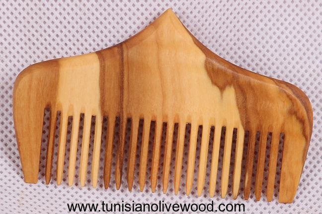 Olive wood combs | Pointed Shape