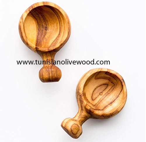 Olive Wood Small Scoop