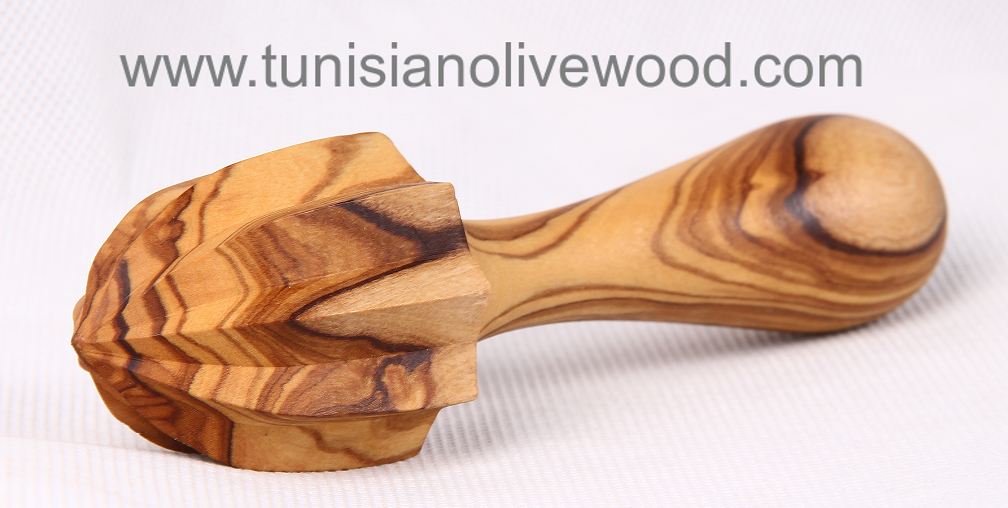 Olive Wood Lemon Juicer