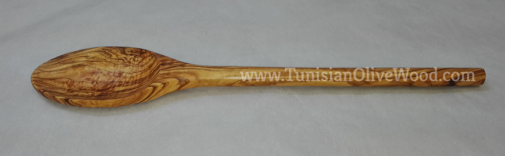 Olivewood Soup & Cooking Spoon with oval Head