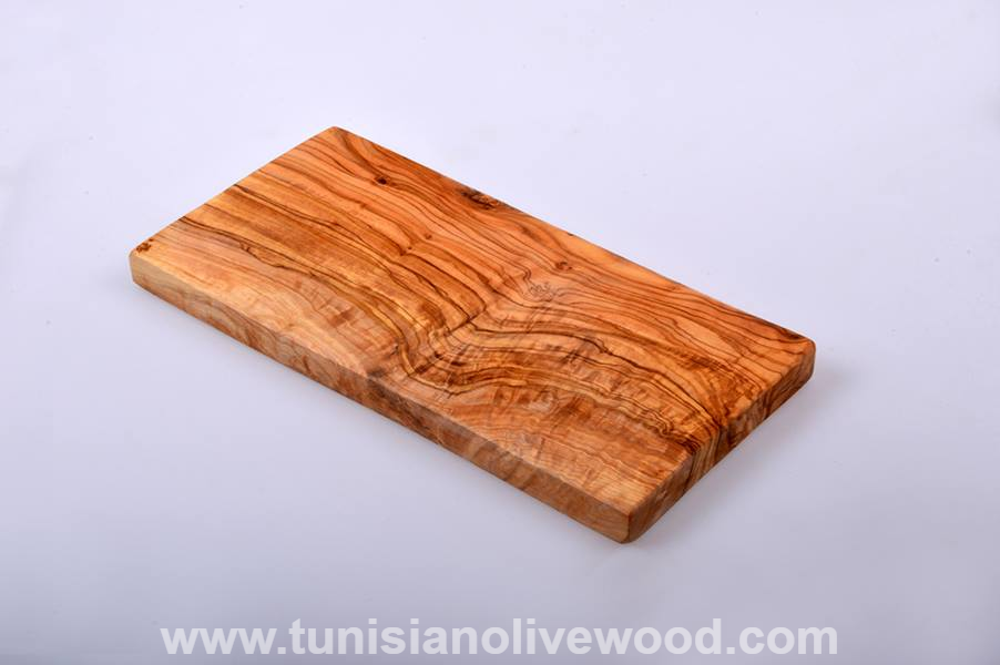 Rectangular Handcrafted Olive Wood Cheese/Bread Cutting Board