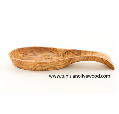 Olive Wood Spoon Rest