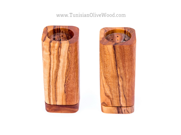OliveWood Salt and Pepper Shakers