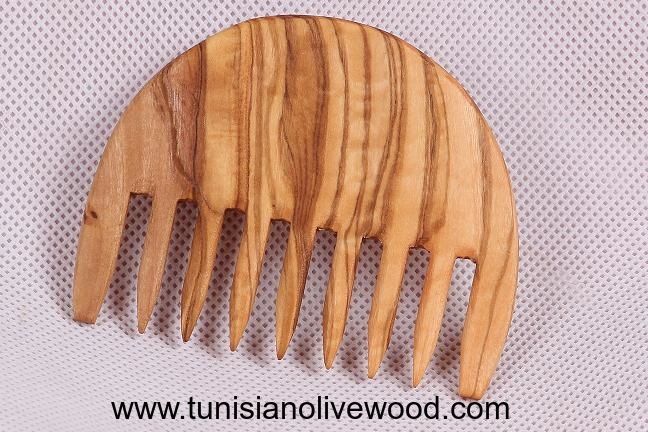 Olive wood combs | 7 Tine