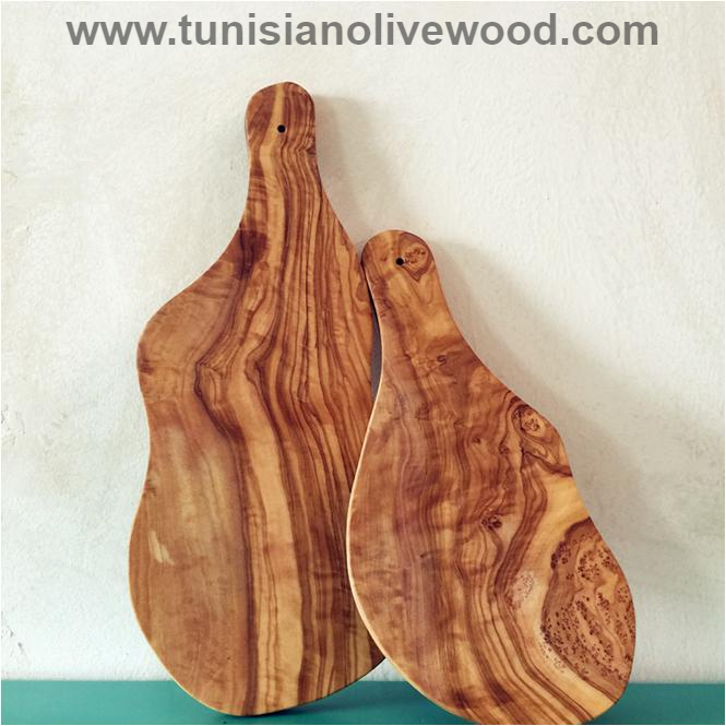 Handcrafted Olive Wood Cheese/Bread Cutting Board
