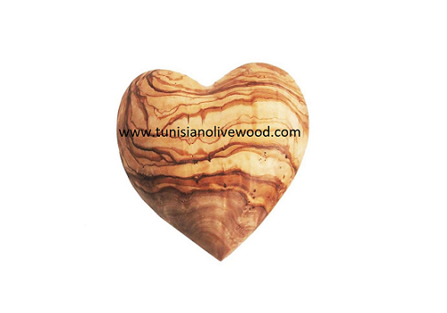 Gorgeous olive wood Heart